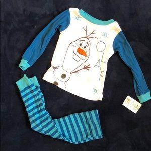Olaf toddler pajamas